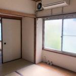 和室5.5畳も明るい光が入ります