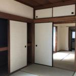 和室6畳には大きな押入があります