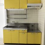 黄色のキッチン(キッチン)