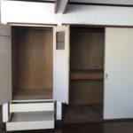 サービスルームの収納も大容量