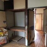 1階和室の収納と扉