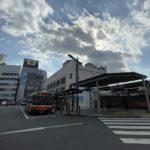 竹ノ塚駅前(東口)の様子