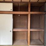 2階和室(バルコニー側)の押入