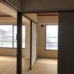 2つの和室とキッチンをぐるぐるまわれます
